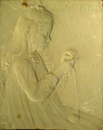 Catharina Isabella Six - gipsmodel