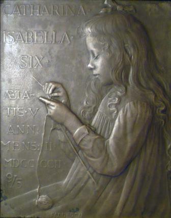 Catharina Isabella Six - zilver