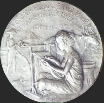 300 jaar gezag in Indië - zilver