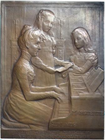 Mm.Labouchere en haar dochters