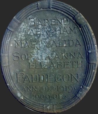 plaquette graf Nunspeet
