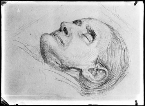 vrouw op haar sterfbed