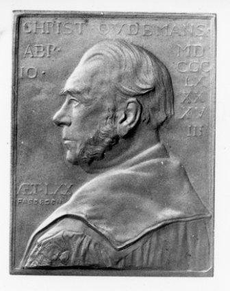 Prof.J.A.C.Oudemans afslag