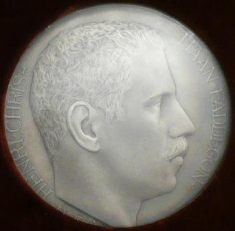 Henri Christiaan Faddegon - zilver